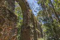 Aqueduct built with stones and whale oil in 1893, and still in use!