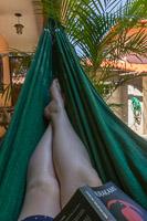 Relaxing in my hammock :)