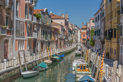 Venice is busy but if you walk away from the most famous sites you can find many quiet places too!