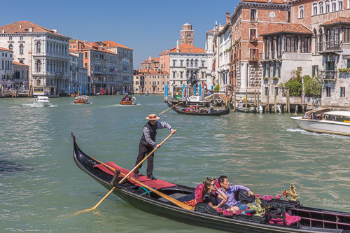Classic Venice image with a gondola :)
