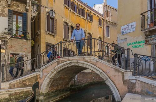 Michiel in Venice :)