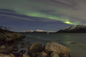 Rocks & Northern Lights
