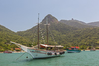 One last look at Ilha Grande, and here you can clearly recognize Pico do Papagaio!