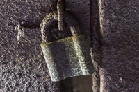 An old lock