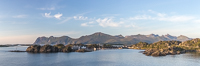 Panorama of Hamn i Senja, where I have stayed multiple times - love this place!