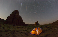 Startrails over our tent :)