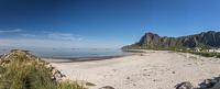 The fantastic beach at Bleik