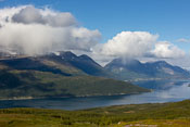 It was fun to watch all the local showers on the other side of the fjord
