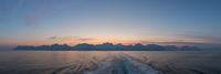 A spectacular goodbye to the Lofoten from the ferry to Bodø