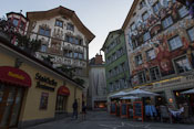 The beautiful old town of Luzern