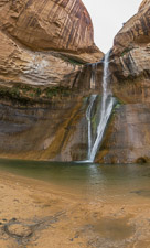 Calf Creek Falls - beautiful! People were swimming in the lake underneath