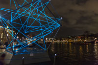 Sculpture at Amsterdam Light Festival