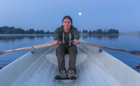 Rowing in the moonlight