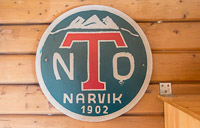 The logo of Narvik Turlag