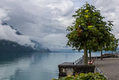 Lake Brienz seen from Brienz :)