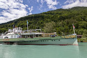 The DS Lötschberg on its way back to Brienz