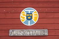 The logo of the Swedish trekking Association