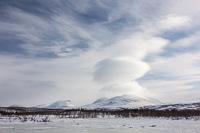 Impressive lenticular clouds