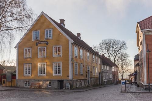 Fredrikstad at sunset