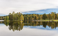 Reflections at Sognsvann