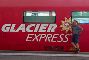 The famous Glacier Express!
