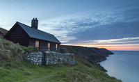 Hanmers Cottage at sunset :)
