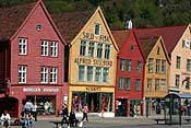 Bergen in the sunshine