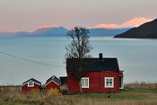A view on the way back to Tromsø