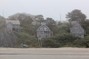 Imagine living in one of those lovely houses right on the beach...