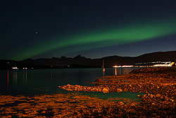 Northern lights seen from Tromsø