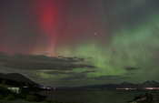 More red aurora, so pretty