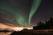 Aurora Borealis combined with Aurora Urbanis as Roy calls it... it's the city lights of Tromsø reflected on a cloud
