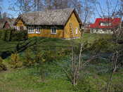 Kärdla is a very sleepy but friendly town, full of detached houses with nice gardens