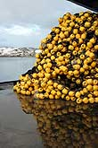 Fishing float balls in Honningsvåg