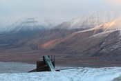 Mine nr 7 (they have such original names!), the only one in Longyearbyen that is still in use