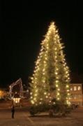 The flying christmas tree