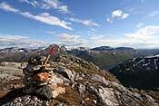 View towards Nordfjorden