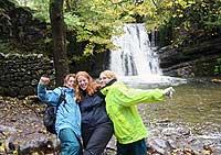 Met Kirsten (links) en Helen (rechts)